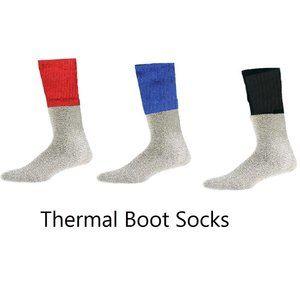 Men's Thermal Boot Socks - 3 Pack Premium Quality